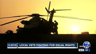 Colorado vets fighting for equal rights after President Trump's tweet announcing military ban - Video