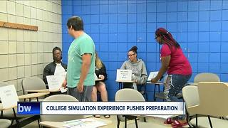 Studets chime in on takaways from The College Simulation Experience - Video