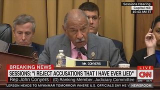 Dem Reads Trump's Tweets Out Loud During Hearing, That's When He Hears from Jeff Sessions - Video