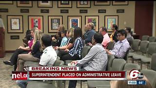 Carmel superintendent on administrative leave