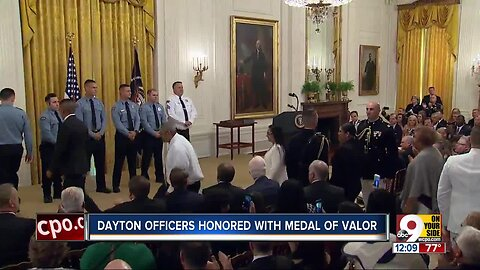 Dayton officers honored with Medal of Valor