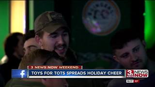 Nebraska veterans group collects Toys for Tots - Video