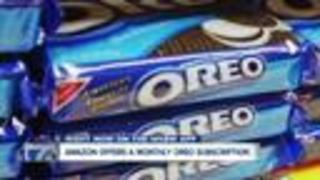 Amazon Offers A Monthly Oreo Subscription Box - Video