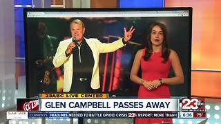 Country community mourns Glen Campbells' death - Video