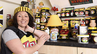 She's gone marmite mad – Woman so obsessed with marmite eats it with every meal - Video