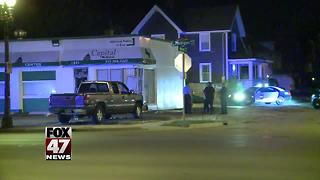 Early morning break-in at Lansing marijuana dispensary - Video
