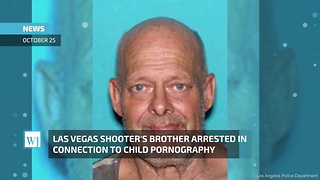 Las Vegas Shooter's Brother Arrested in Connection to Child Pornography - Video