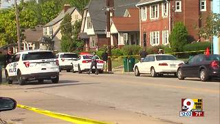 Cincinnati police say one person shot in Bond Hill - Video