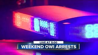 18 OWI arrests over St. Patrick's Day weekend, sheriffs cracking down - Video