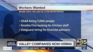 USAA and Vanguard now hiring - Video