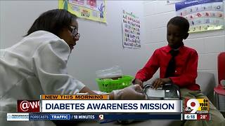 Classmates support Westwood second-grader with diabetes - Video