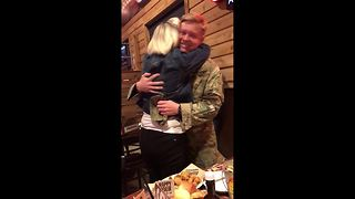 Heartwarming Reunion Between Soldier And Mother - Video