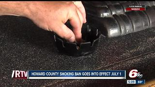 Howard County smoking ban goes into effect July 1