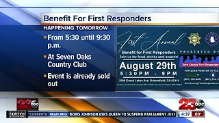 Special benefit dinner to honor first responders in Kern County