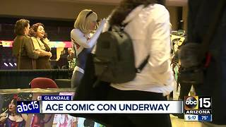 ACE Comic Con underway in Glendale