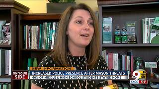 2 threats made against Mason schools - Video
