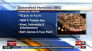 Local man helps organize BBQ for the homeless