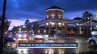 Dirty Dining: Primebar Wiregrass shut down for 2 days due to live roaches in the kitchen - Video