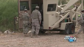 Southern Arizona reaction to National Guard deployment to the border - Video