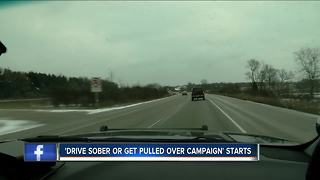 Wisconsin Drive Sober or Get Pulled Over campaign kicks off - Video