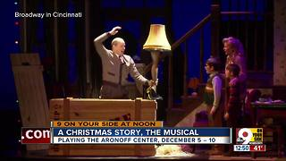 'A Christmas Story' now playing at the Aronoff Center - Video