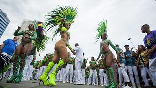 Rio carnival copycats Notting Hill by taking to the streets - Video