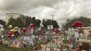 Memorial grows outside Stoneman Douglas High School - Video