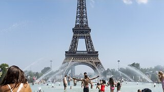 France Roasts In Record Heatwave