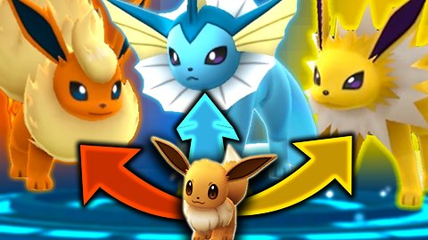 Pokemon Go: How to evolve Eevee into a Vaporeon, Jolteon or Flareon