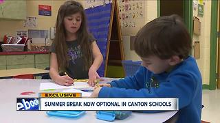 Year-round school offered to students in Stark County - Video