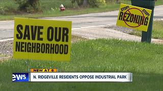 'Save our neighborhood': North Ridgeville residents oppose industrial park on their quiet street - Video