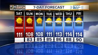 Hot weekend in store before 4th of July! - Video