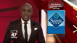 Sam's Club rewards employees for getting fit - Video