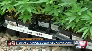 Sarasota Police delay plan to crackdown on CBD