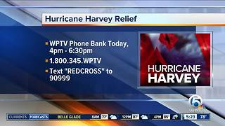 WPTV teams up with Red Cross for Monday phone bank - Video