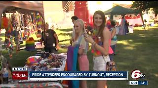 Pride attendees encouraged by turnout, reception - Video