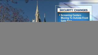 Security changes at Magic Kingdom in effect Monday