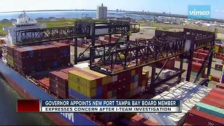 Governor Rick Scott appoints new Port Tampa board member after concerns of 'wasteful spending' - Video