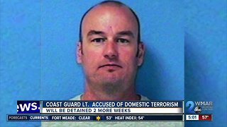 Coast Guard lieutenant accused of planning terror attack ordered detained for now