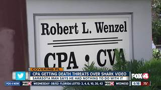 CPA getting death threats for shark-dragging video - Video