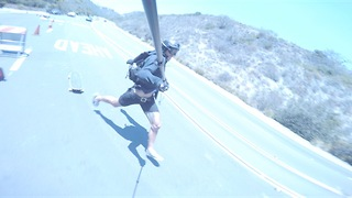 Insane Crash Footage Downhill Skateboarding - Video