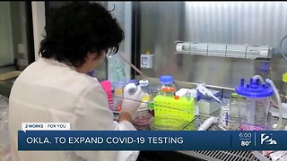 Oklahome expands COVID-19 testing