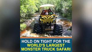 Central Florida is home to the world's largest monster truck safari - Video