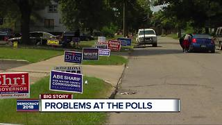 Multiple cities in metro Detroit temporarily relocate polling precincts - Video