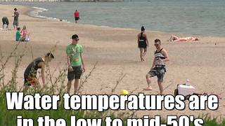 A day at the beach in Wisconsin - Video