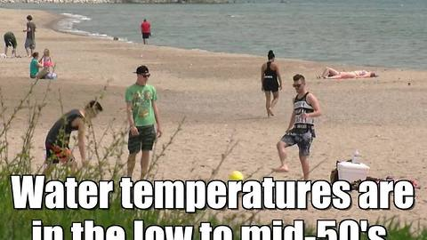 A day at the beach in Wisconsin
