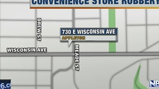 Appleton convenience store robberies - Video