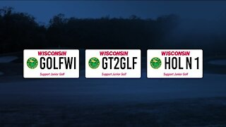New golf license plates to fund college scholarships