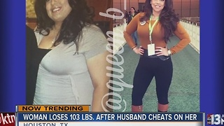 Woman gets revenge by losing weight - Video