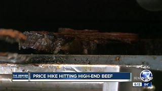 Beef price hikes hit Denver steakhouses - Video